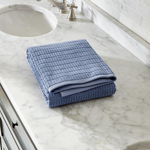 Manhattan Blue Bath Towel