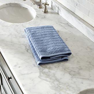 Manhattan Blue Hand Towel