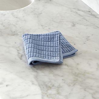 Manhattan Blue Washcloth