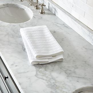 Manhattan White Hand Towel