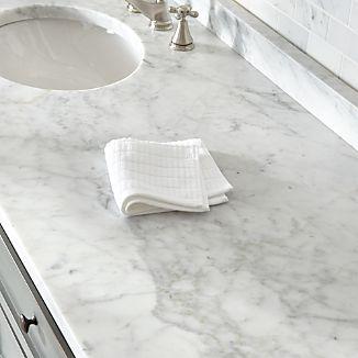 Manhattan White Washcloth