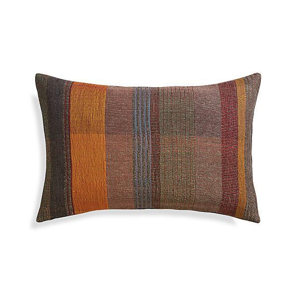"Manza 24""x16"" Pillow with Down-Alternative Insert"