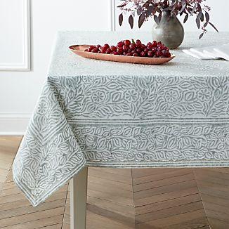 "Mara Sage 60""x90"" Tablecloth"
