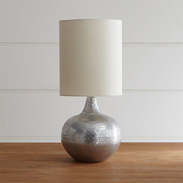 mara table lamp crate and barrel. Black Bedroom Furniture Sets. Home Design Ideas