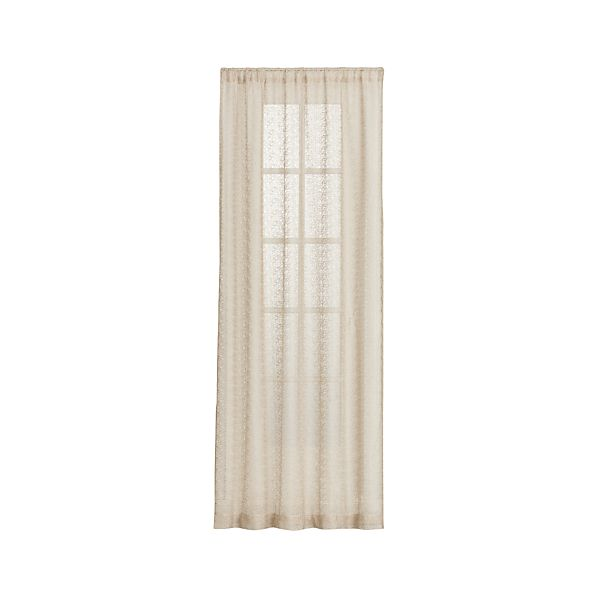 Marche Sheer 50x84 Curtain Panel