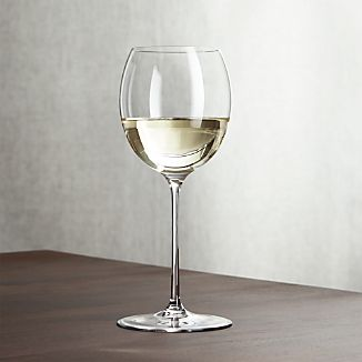 Marika Big White Wine Glass