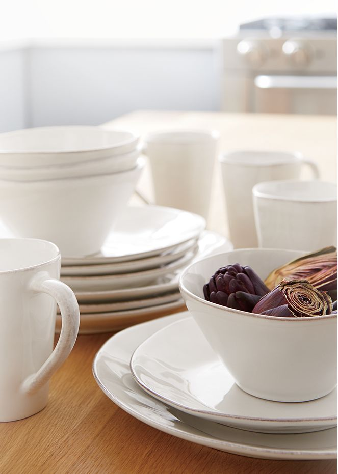 Marin White Dinnerware Collection
