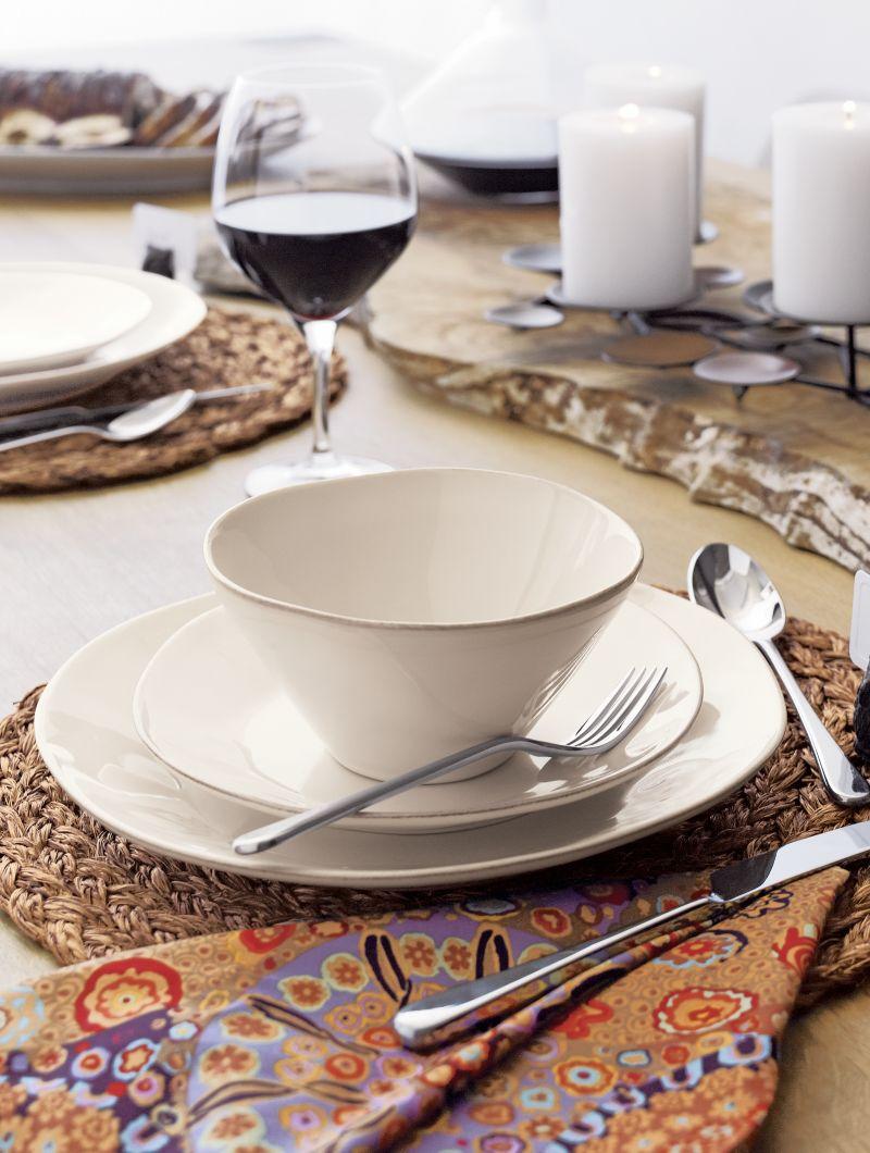 Marin White Dinnerware