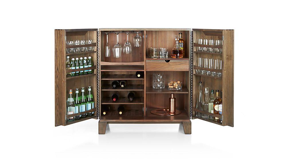 Marin Shiitake Bar Cabinet