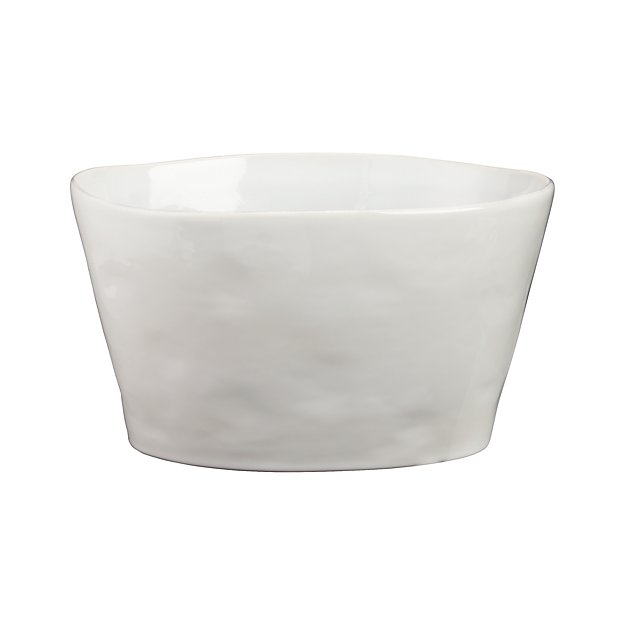 Marin White Beverage Tub