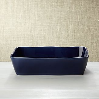 "Marin Dark Blue 12""x8.5""Baking Dish"