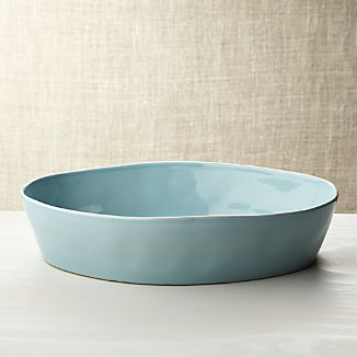 "Marin Blue Oval 10""x13.75"" Baking Dish"