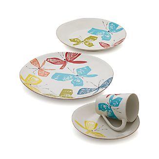 Marin Butterflies Dinnerware