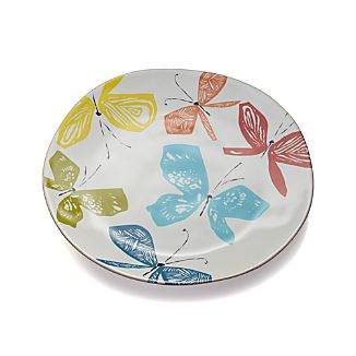 Marin Butterflies Round Platter