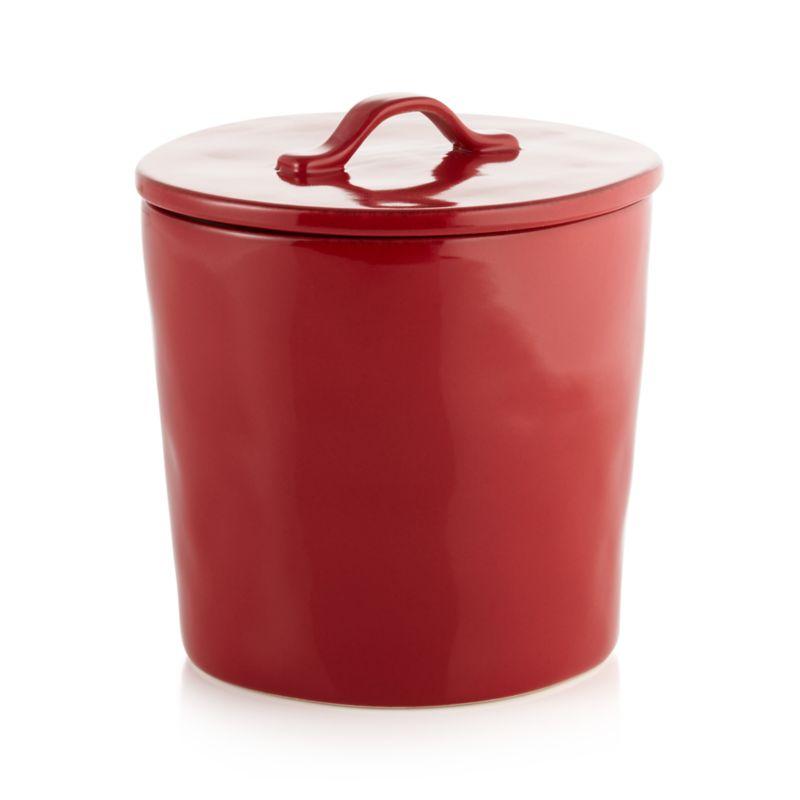 Marin Canister Medium Red