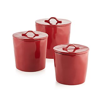 Marin Red Canisters