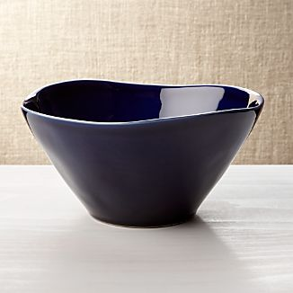 Marin Dark Blue Serving Bowl