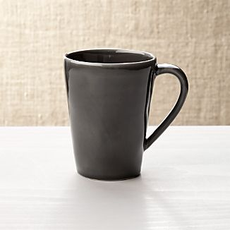Marin Dark Grey Coffee Mug