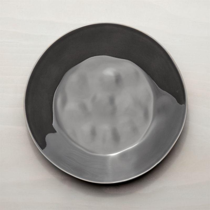 Marin Dark Grey Dinner Plate