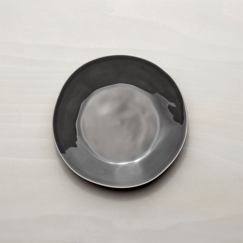 Marin Dark Grey Salad Plate
