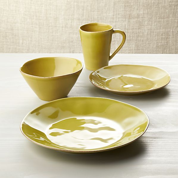 Marin Green Dinnerware