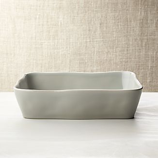 "Marin Grey 12""x8.5"" Baking Dish"