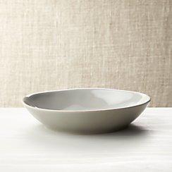 Marin Grey Pasta-Low Bowl