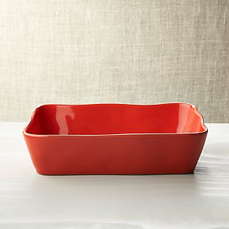 "Marin Orange 12""x8.5""Baking Dish"