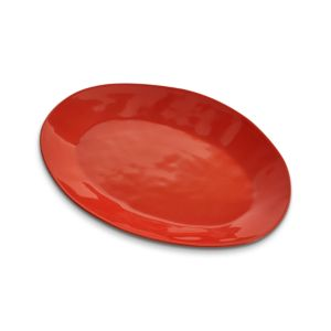 Marin Orange 15.75 Oval Platter