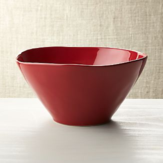 Marin Red Serving Bowl