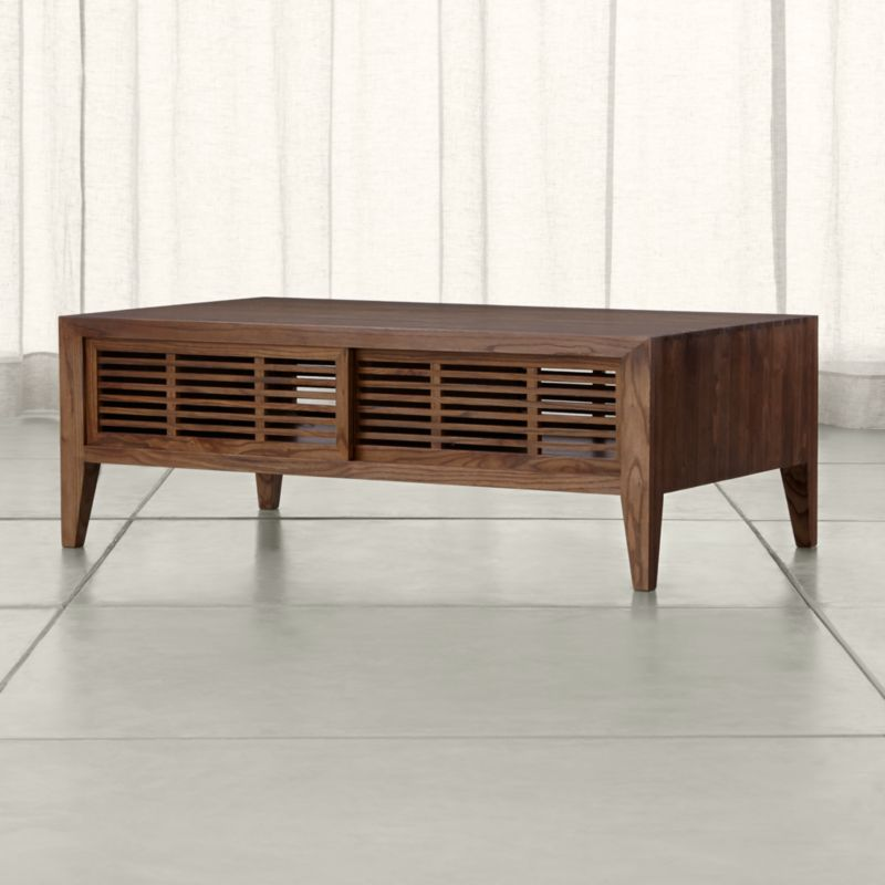 Marin Shiitake Solid Wood Coffee Table