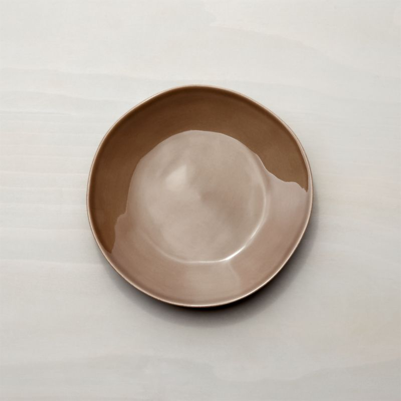Marin Taupe Salad Plate