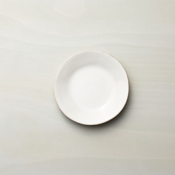 Marin White Appetizer Plate