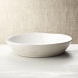Marin White Centerpiece Bowl