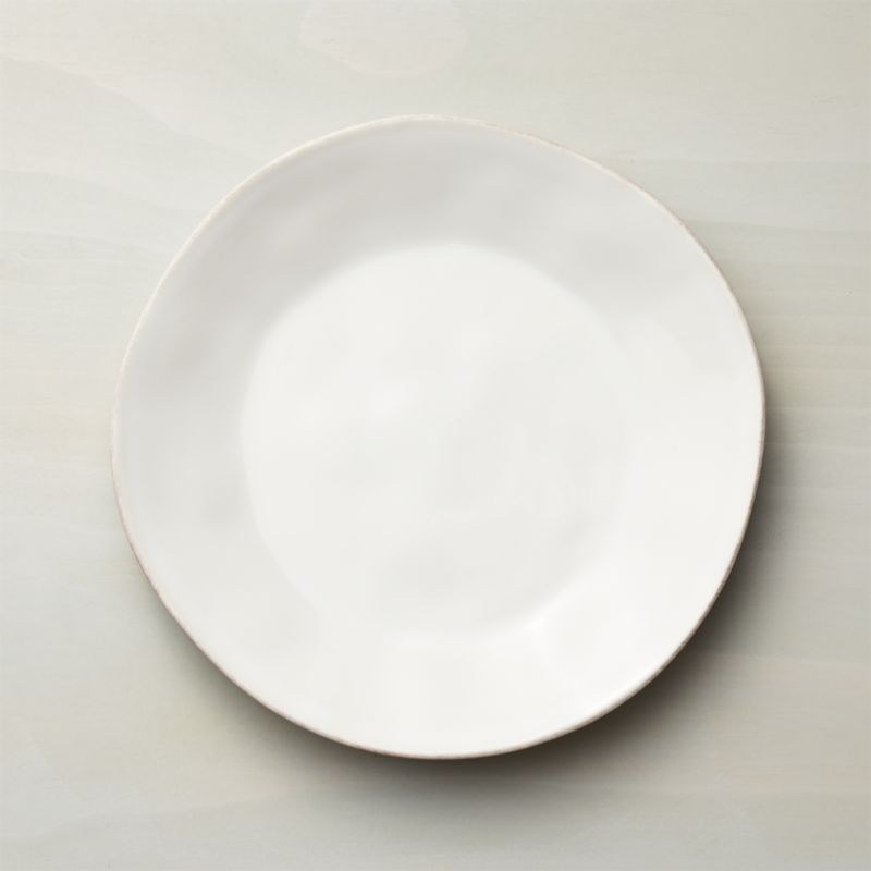 Marin White Dinner Plate Crate And Barrel