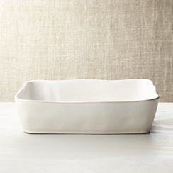 "Marin White 12""x8.5"" Baking Dish"