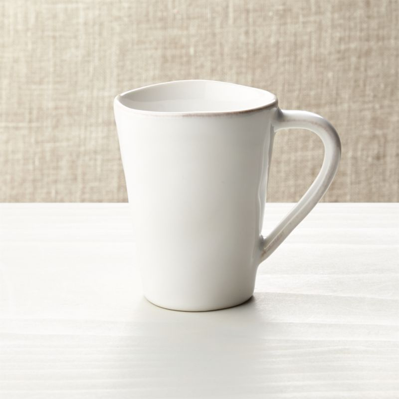 Marin White Mug Crate And Barrel