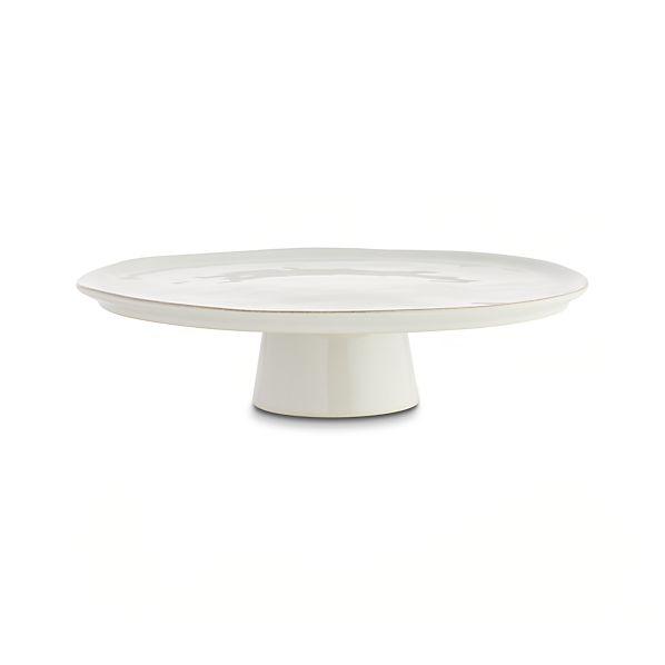 Marin White Large Cake Stand