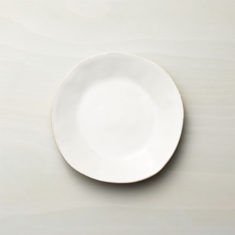 Marin White Salad Plate