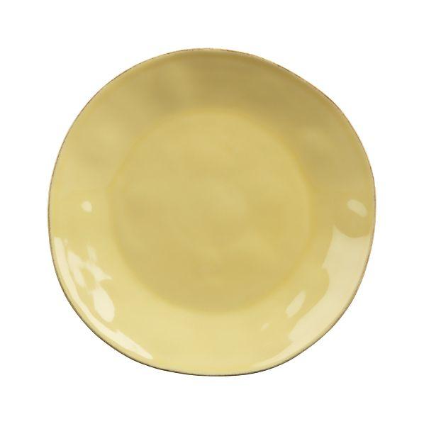 Marin Yellow Dinner Plate