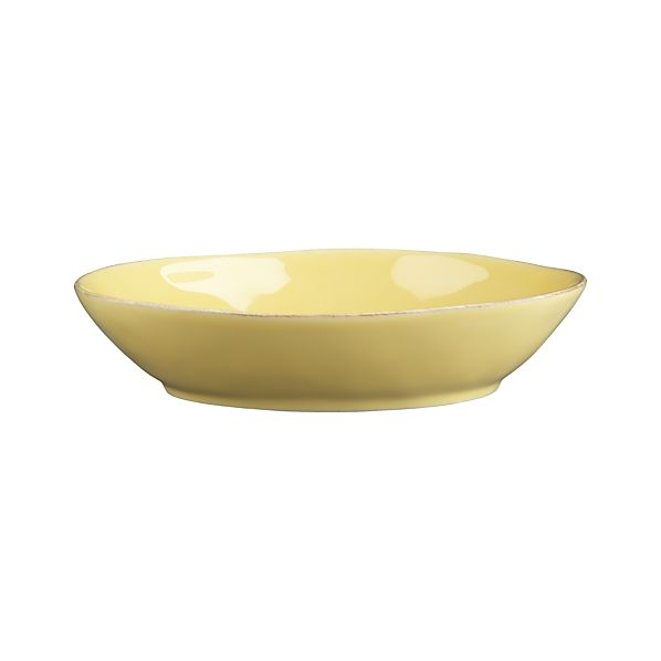 Marin Yellow Pasta-Low Bowl