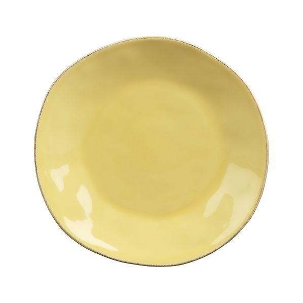 Marin Yellow Salad Plate