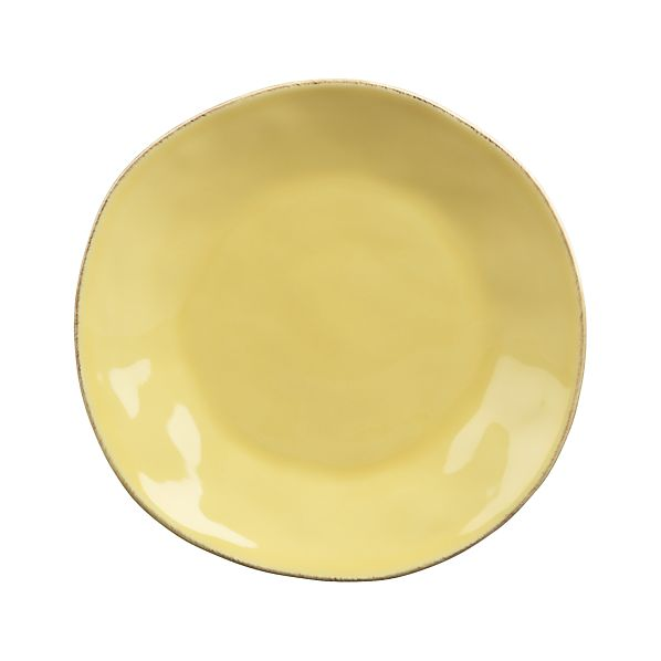 Marin Yellow Salad Plate