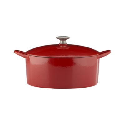 Mario Batali Red 6-Quart Dutch Oven