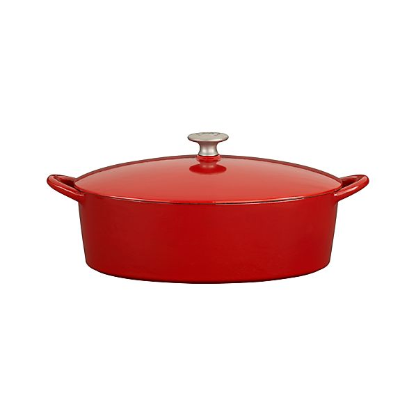 Mario Batali Red 6-Quart Dutch Oven