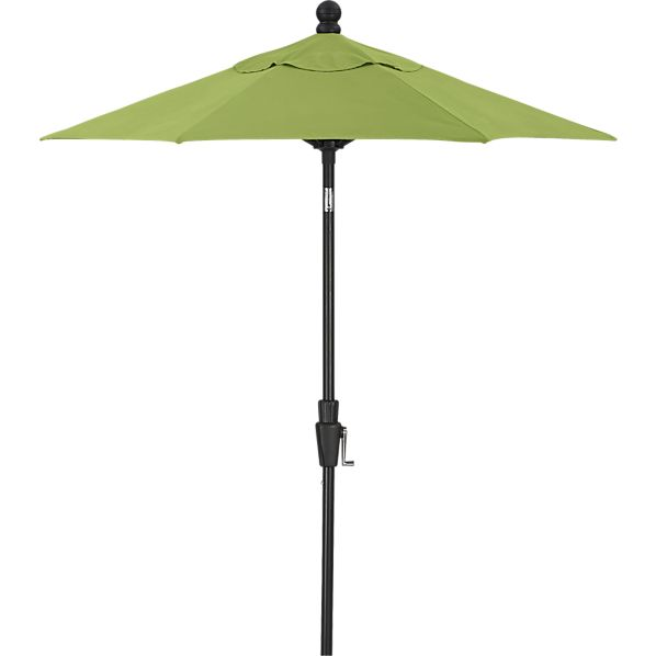 6' Round Sunbrella ® Kiwi High Dining Umbrella with Black Frame