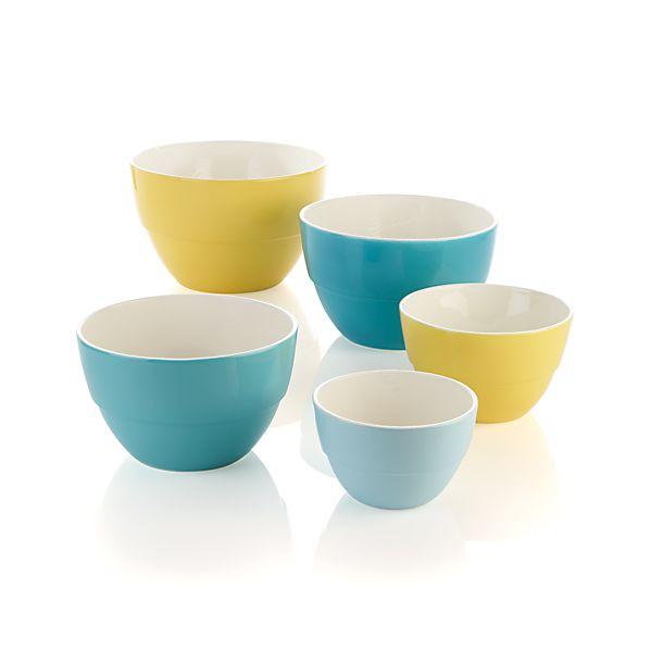 5-Piece Market Nesting Bowl Set