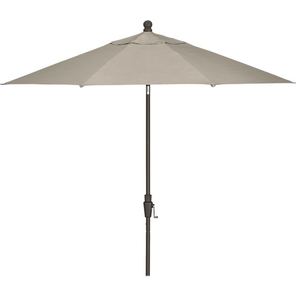 [TEMPLATE] 9' Round Sunbrella ® Umbrella with Bronze Frame