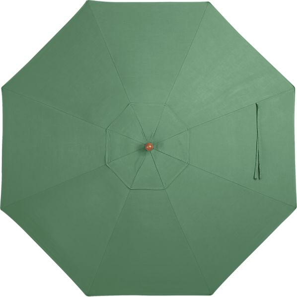 9' Round Sunbrella ® Bottle Green Umbrella Canopy