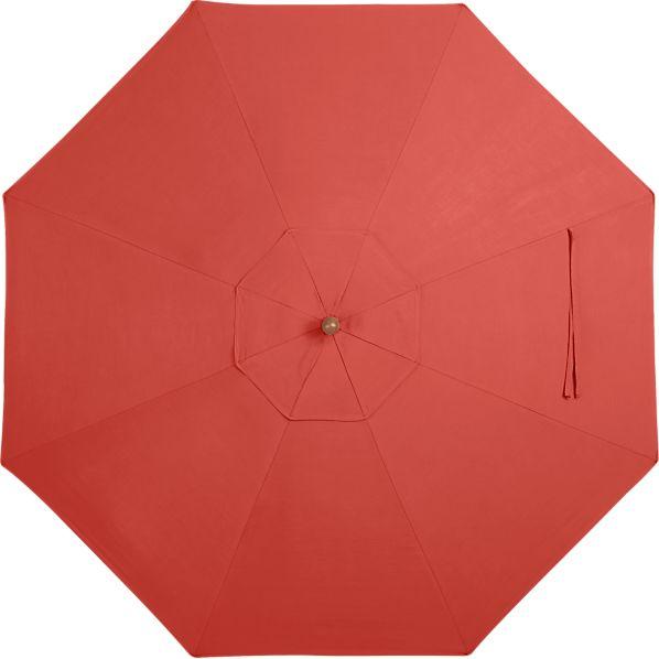 9' Round Sunbrella ® Paprika Umbrella Canopy